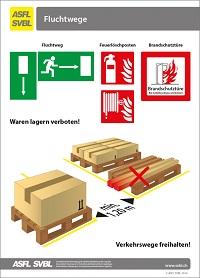 13. Les voies d'évacuation
